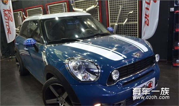 MINI Countryman改K2 MOTOR排气